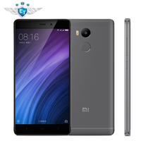 Original Xiaomi Mi Redmi 4 Cell Phones 5 0 2 5D Screen 4100mAh 13MP Fingerprint