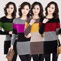 2016 women cashmere sweater Women dress medium-long pullovers long-sleeve cashmere sweater women large size Free shipping