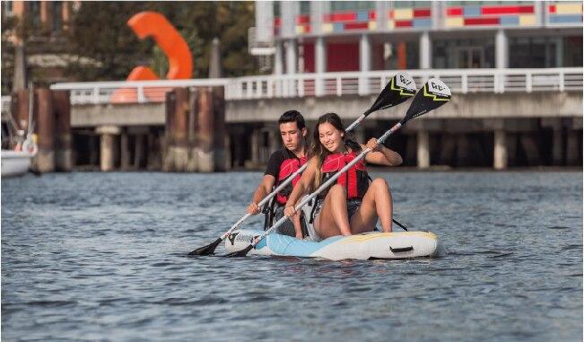 Tasuta saatmine Aquamarina DetachableInflatable Standard Up Paddle - Veesport - Foto 6