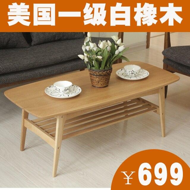 senger maison bois table basse table basse moderne minimaliste petit appartement ikea table basse scandinave chne - Table Japonaise Basse