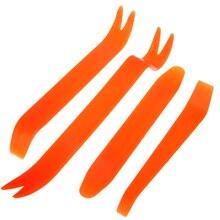 4 шт. Автомобильный Дверной зажим панели Инструменты для удаления аудио-видео приборной панели набор для демонтажа монтажника инструмент для ремонта пластиковой отделки панели Инструменты для ремонта