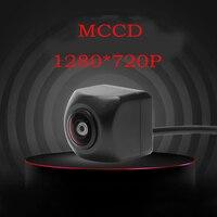 MCCD HD Car rear view camera real wide angle super night vision 1000L reverse parking camera I68 waterproof NTSC camera