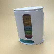 2018 New 7 Days Pill Organizer Pro Storage Case Compact Organize Mini Pills Storage Box Convenient Medicine Storage Box Pill Pro