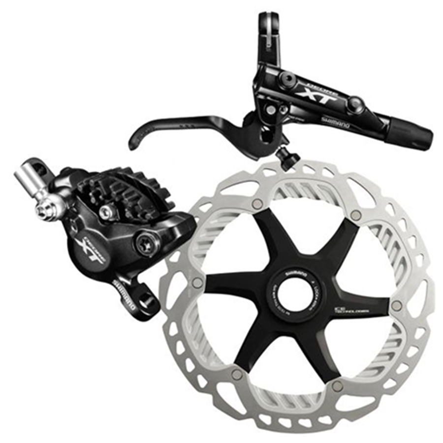 Shimano XT M8000 MTB Hydraulic Disc Brake Set Front/&Rear Ice-Tech RT81//RT86