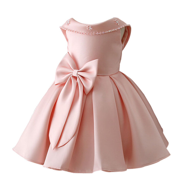 Girls Sleeveless Princess Dress 2018 Brand Baby Girls Birthday Party Dress Kids Clothes Cotton Children Clothing Robe Fille Sale baby girls dress 2016 brand new girls princess dress children s birthday party sequined dress pink tutu kids free shipping