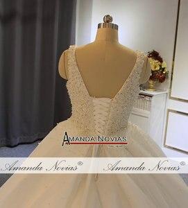 Image 4 - Vestido de novia con perlas, pedido al cliente