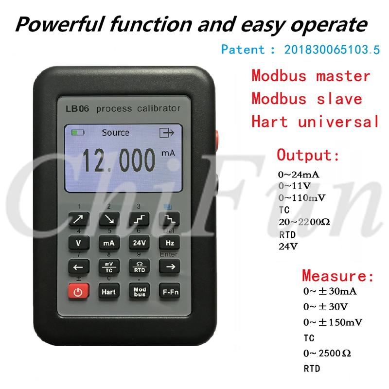 Freeshipping HART 4 20mA signal generator 0 10V mV thermocouple current voltage source calibration