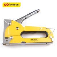 4 8mmNail Staple Gun Furniture Stapler For Wood Door Upholstery Framing Rivet Gun Kit Nailers Rivet