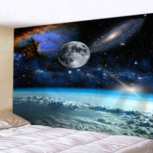 The Outer Space Tapestry 3D Printed Living Room Bedroom Decoration Sandy Beach Picnic Towel