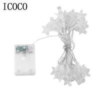 3 2M 30LED Low Power Consumption Five Stars Indoor Outdoor Party Festival Wedding Party Decoration Fairy