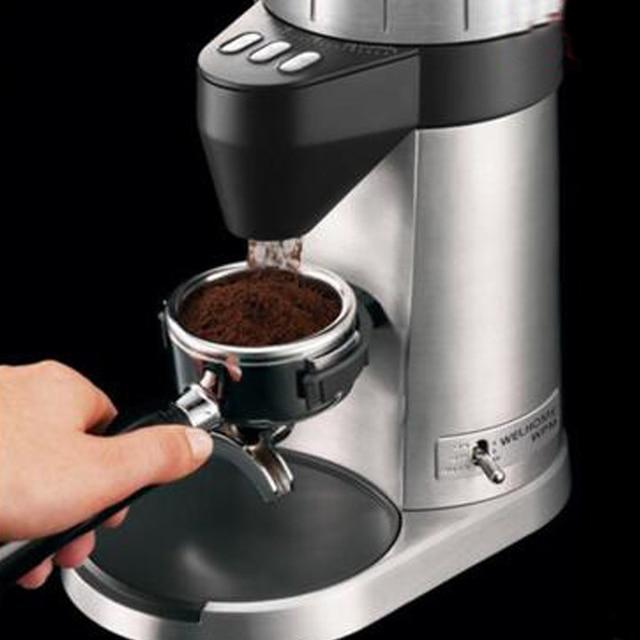 Electric/Manual Coffee Bean Grinder Household Coffee Grinding Machine 220V Multi-gear Control Coffee Grinding Machine ZD-16