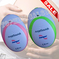 FDA CE Fetal Doppler Baby Sound Angel Heart Beat Pregnant Monitor Earphone USD Cable Pink/Green