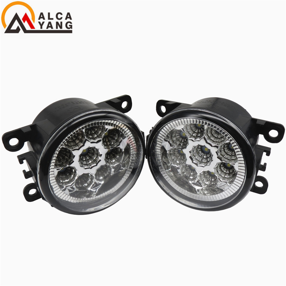 Angel Eyes Car styling Halogen fog lamp lamps fog light lights For Mitsubishi GRANDIS L200 GALANT 2003-2015 12V 2 PCS