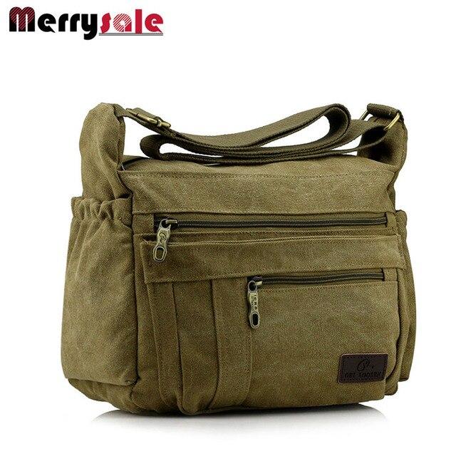 men bag canvas bag men shoulder fashion handbag  message bag
