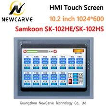 Samkoon SK 102HE HMI сенсорный экран, новинка, 10,2 дюймов, 1024*600, человеческий интерфейс, новый вырез