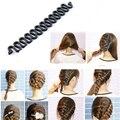 1 pcs hair fashion rolo trança braider tool com torção cabelo magia styling bun criador styling acessórios de cabeleireiro ferramentas
