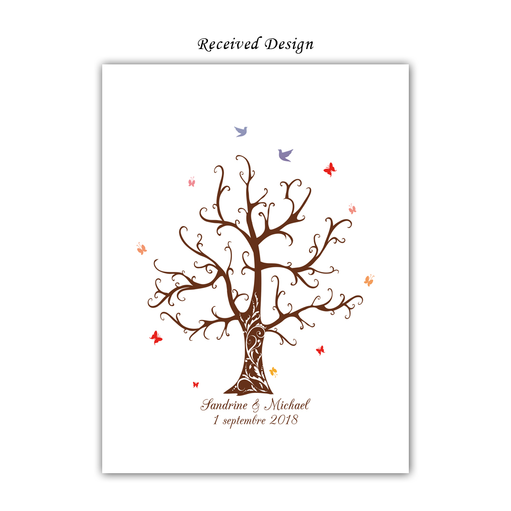 Free-Custom-Name-Date-DIY-Fingerprint-Signature-Guest-Book-Canvas-Print-Wedding-Tree-For-Party-Decoration (2)