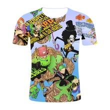 2019 Men Women New Fashion 3D Cartoon T-shirt One Piece Casual t shirts Brand Clothing Hip Hop Streetwear Summer Tops Tees