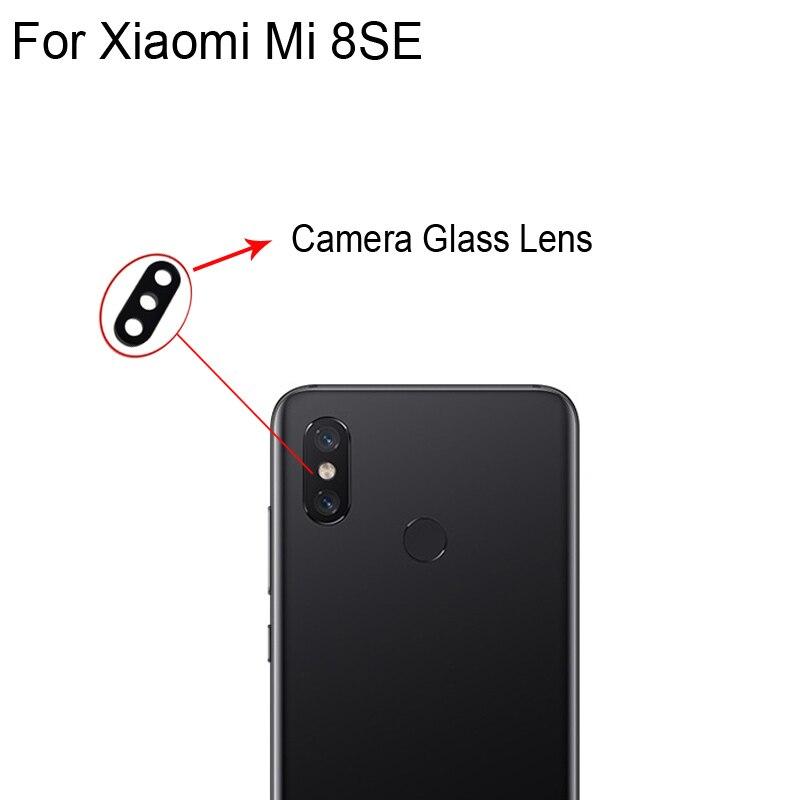 Original New For Xiaomi Mi 8 SE Se Rear Back Camera Glass Lens For Xiaomi Mi 8SE Repair Spare Parts XiaomiMi8SE Replacement