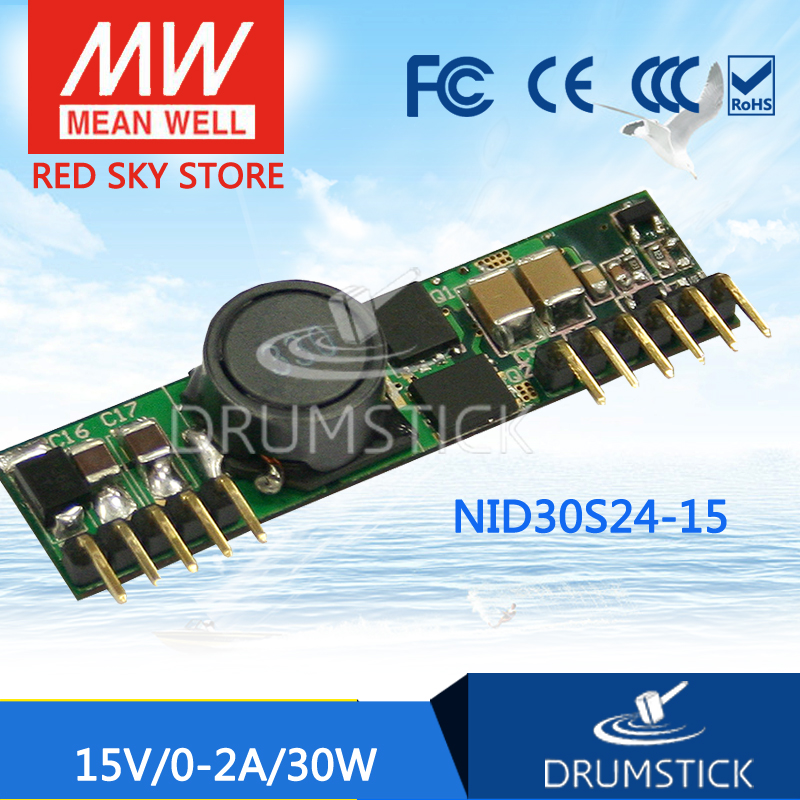 Advantages MEAN WELL NID30S24-15 15V 2A meanwell NID30 15V 30W DC-DC Non-isolated Single Output Converter
