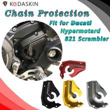 KODASKIN Billet Aluminum Front Sprocket Chain Cover For Ducati  Hypermotard 821 Scrambler