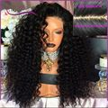 8A 180% density Silk top Full Lace human hair Wigs Afro Kinky Curly Wigs Brazilian Silk base Lace Front human hair Curly wigs
