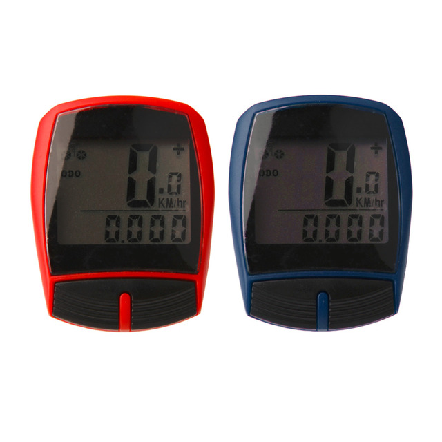 Multifunctional XC Shell Wired Cycling Bike Bicycle Computer Odometer Pedometer Backlight Design Bicycle Accessories drop shippi