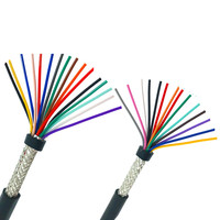 22AWG 20AWG 18AWG 10/12/14/16/20 cores Shielded cable 5meters pure copper RVVP shielded wire control cable UL2547 signal wire