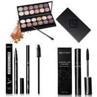 Qibest New Make Up Paleta De Sombra Eyeshadow Pallete Cosmetic Makeup Blusher 12 Colors Concealer Eye
