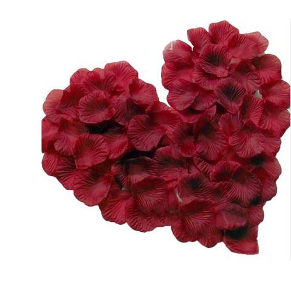 Hot Sale 100 Pcs Romantic Wedding Decoration Artificial Silk Flower