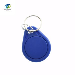 10pcs/lot 13.56MHz RFID IC Key Tags Keyfobs Token NFC TAG Keychain For Arduino(China)