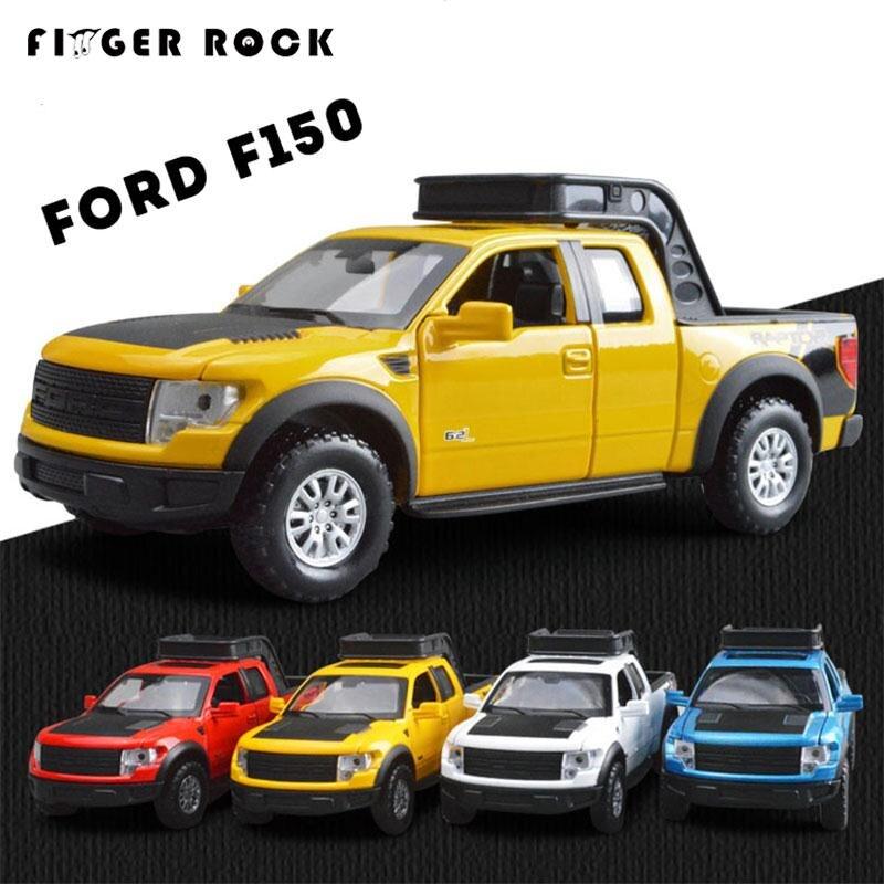 Camioneta Ford F150 Raptor 1:32 Modelo de Simulación de Aleación de Coche Exquis