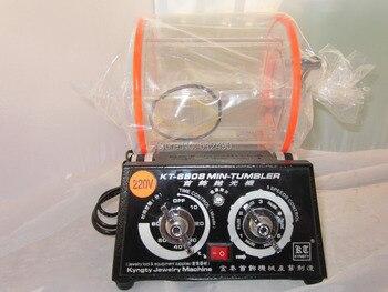 Kt6808 mini polishing motor,mini jewelry polishing tumbler,gold polishing tumbler, rotary polishing tumbler,mini barrel tumbler фото