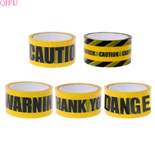 QIFU 1 Roll 25m Yellow Caution Tape Thank You Party decoration Adult Supplies Baby Shower Boy Construction Birthday