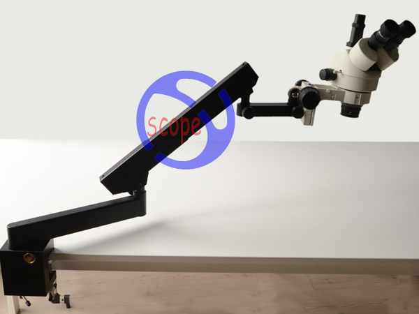 FYSCOPE  7X-90X STEREO ZOOM MICROSCOPE +ARTICULATING STAND MICROSCOPE SZM2.0X LENS