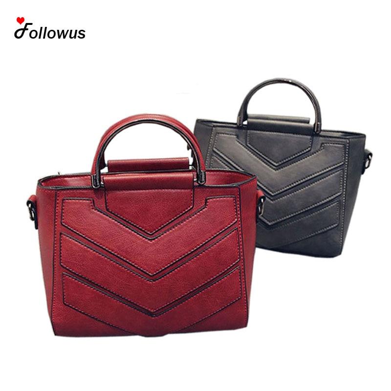 Nuevo Bolso de Las Mujeres Mujeres Messenger Bag PU de Cuero de Moda Diseño Orig