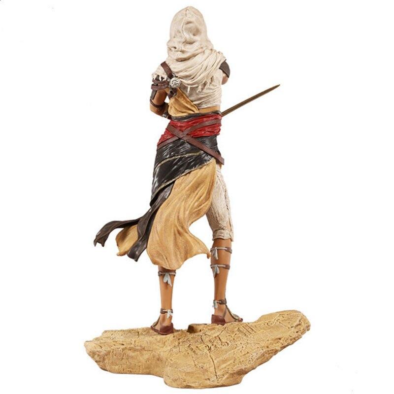 Бесплатная доставка 11 Игра Assassins Creed ста Ая предусмотрена 27 см ПВХ фигурку модели куклы Игрушечные лошадки подарок