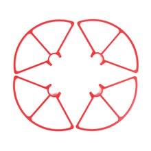 Venda quente 4 pcs Hélices Guarda Proteção Protetor Durável Para YUNEEC Q500 RC Zangão Quadcopter