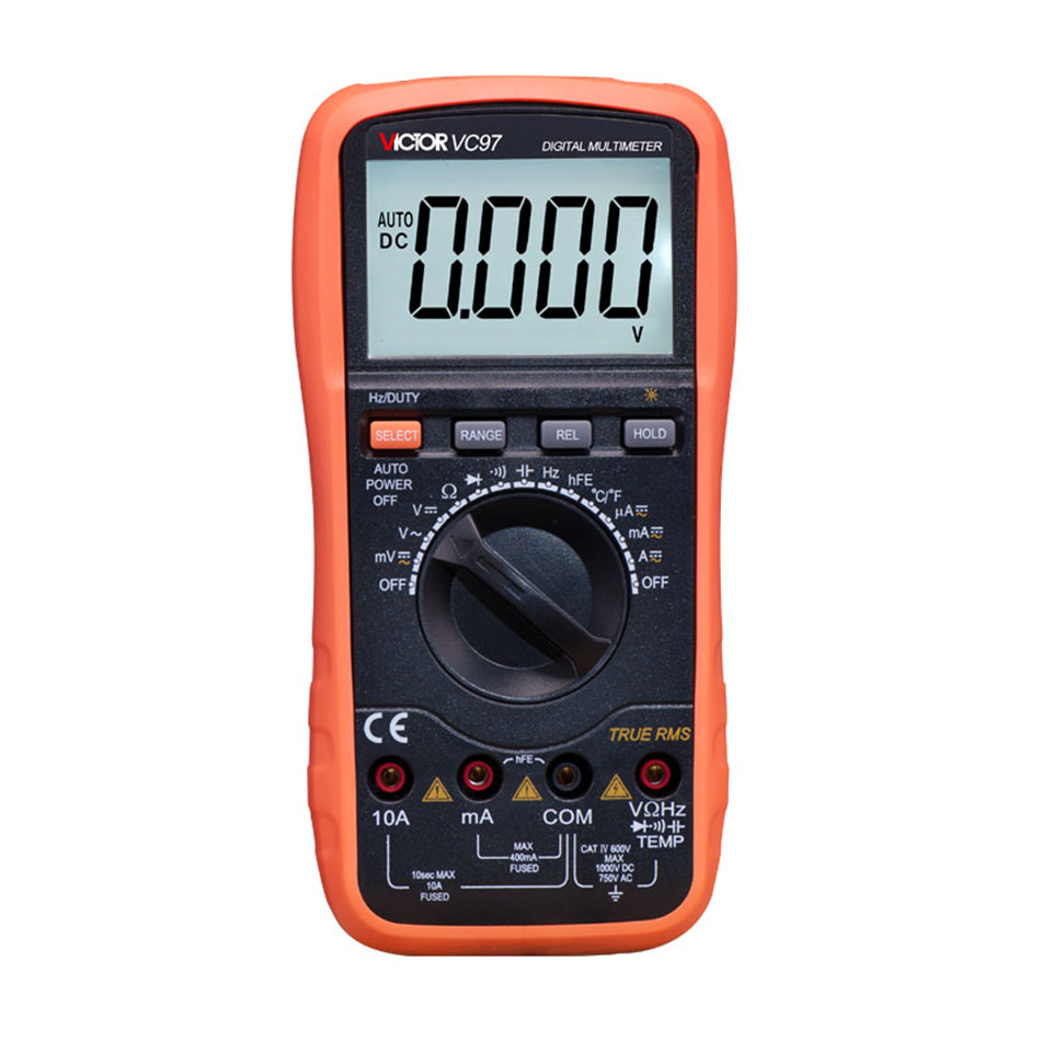 Professional True RMS Auto Range 4000 Counts Resistance Capacitance Frequency Temperature Victor Digital Multimeter single phase dc to ac off grid pure sine wave wind solar hybrid power inverter 1000w 12v 220v 230v 240v