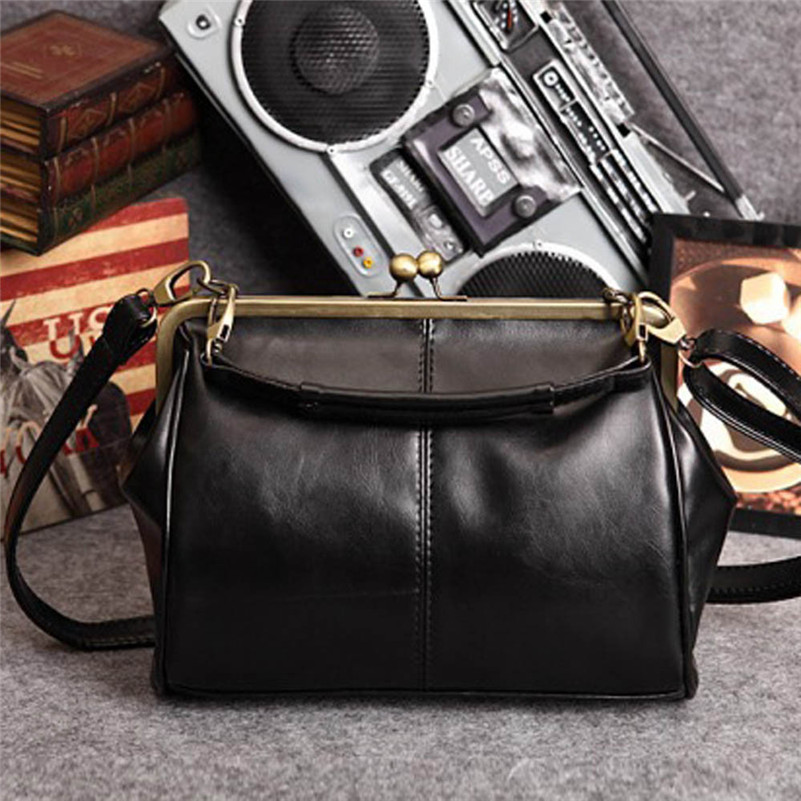 Vogue Casual Women Bags 2016 Popular Small Women Messenger Bags Retro Vintage Leather Shoulder Bags bolsa