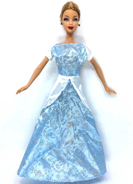 NK One Set Princess Doll Dress Similar Fairy Tale Cinderella Wedding ...
