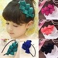 Novo Estilo Coreano Elegante Princesa Arco crianças Menina faixas de Cabelo Headbands Acessórios Para o Cabelo Crianças Presente de Natal