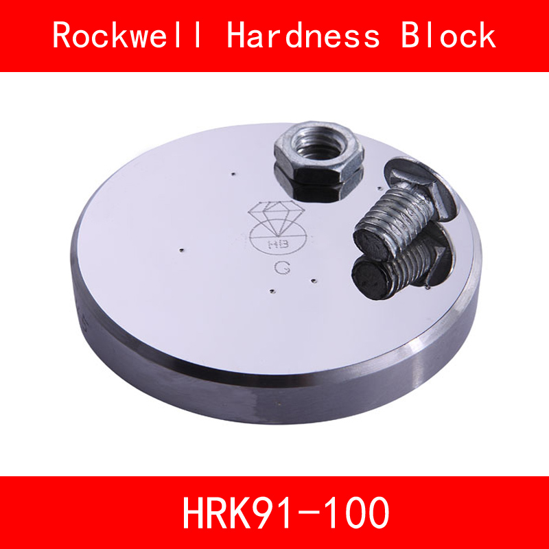 Rockwell Hardness 91-100HRK Metallic Rockwell HRK Hardness Reference Blocks Hardness Test Standard Block Hardness Tester rockwell