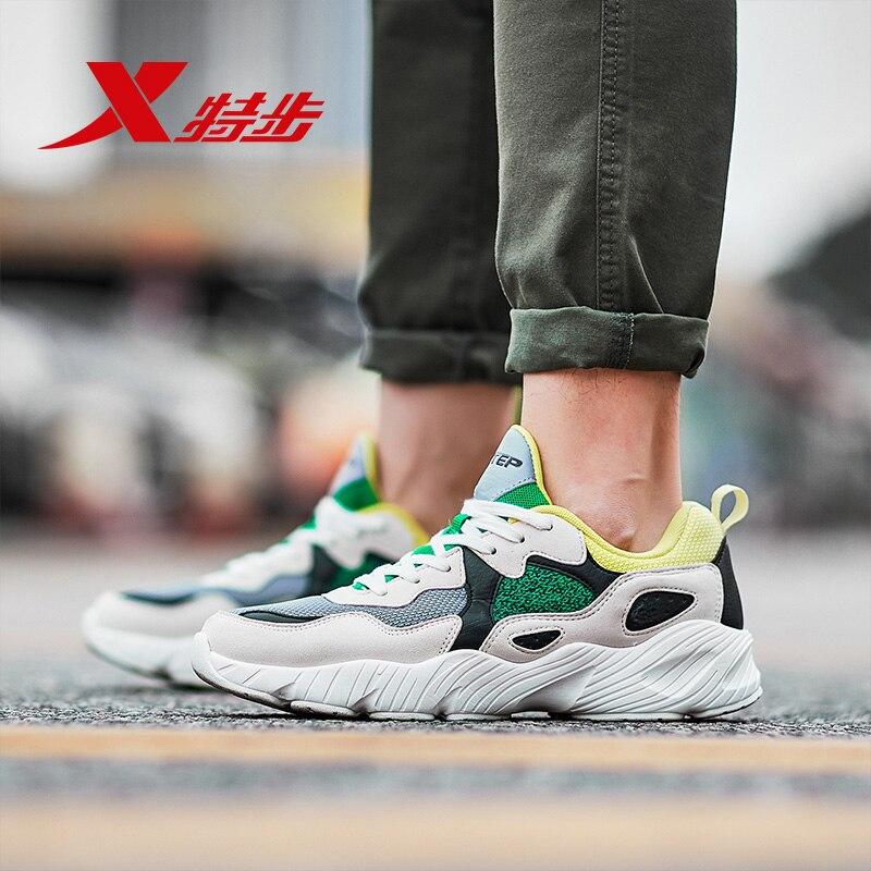 882419329558 XTEP Ретро Клин старый папа обуви прилив товары Для мужчин спортивные Для мужчин амортизацию спортивная обувь кроссовки
