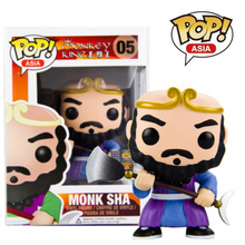 Funko pop Official Asia Journey to the West Monkey King – Monk Sha Figure Collectible Vinyl Figure Model Toy with Original box
