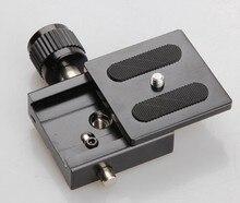 Tripod monopod head PU 50 quick release plate 1/4 wcrew mount for weifeng benro sirui velbon universal 650d 6d 7d 5dii d7100 d90