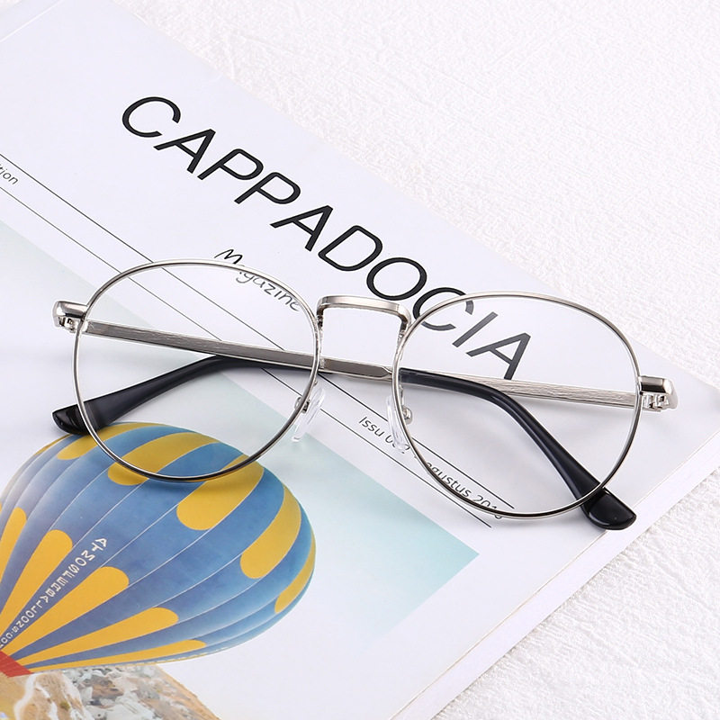 8422404fef Online Shop Retro Fashion Myopia NEARSIGHTED Distance Metal Gold ...