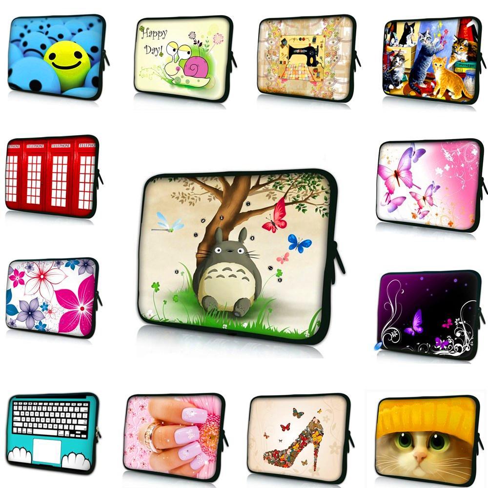 laptop bag tablet sleeve case with handle For iPad Macbook 7.9 9.7 11.6 13.3 14 15.4 15.6 17.3 17.4 inch Women Men Notebook Case