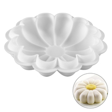 Flower Shaped Silicone Cake Mold For Baking Mousse Chocolate Brownies Dessert Cakes Molds Kitchen Accesorries