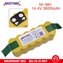 Free shipping to Israel 3600mAh Battery for iRobot Roomba 500 600 700 800 900 Series Vacuum